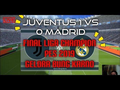 JUVENTUS VS MADRID LIGA CHAMPION 2019!!!!!