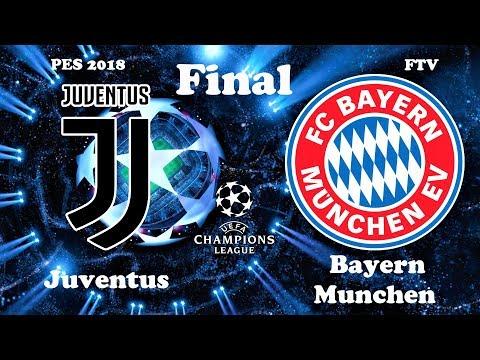 Juventus vs Bayern Munchen | FINAL UEFA Champions League | PES 2018 Gameplay HD
