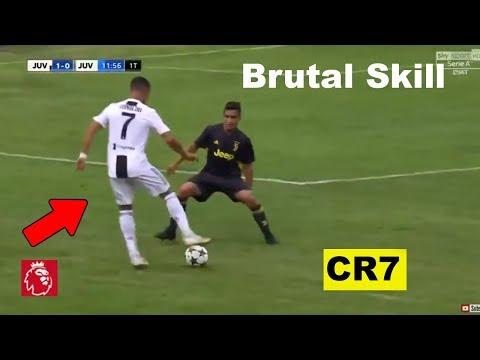 El primer GOL de Cristiano Ronaldo con la Juventus JUGADA BRUTAL