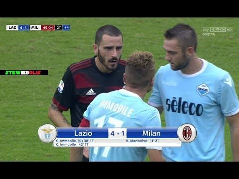Leonardo Bonucci Vs Lazio ⚽ Affare Juventus o Affare Milan? ⚽ Lazio Vs Milan 4-1 ⚽ HD #Bonucci