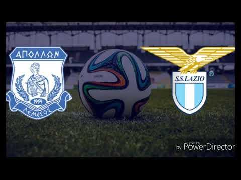Europa League APOLLON-LAZIO 2-0 Radiocronaca di Daniele Fortuna commento Sergio Brio Da Rai Radio 1