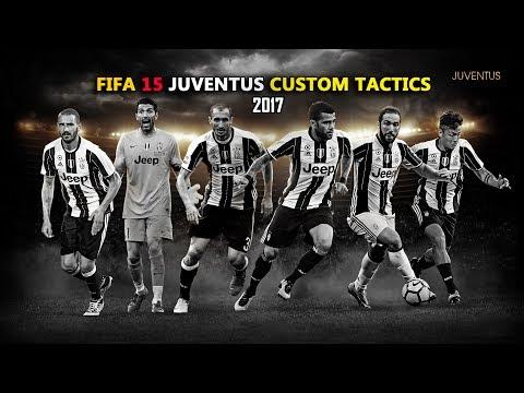 FIFA 15 Juventus Custom Tactics 2017