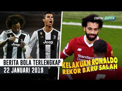 Lihat Kelakuan Ronaldo ke Marcelo Ini ⚽️ Mo Salah Cetak Rekor Baru Kalahkan Legenda Liverpool