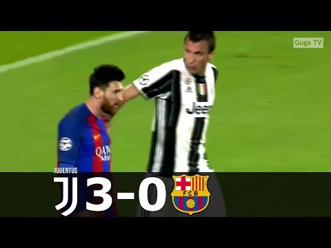 Juventus vs Barcelona 3-0 – UCL 2016/2017 – Highlights (English Commentary)