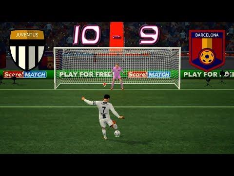 JUVENTUS v BARCELONA | Dream League Soccer 2018 | Penalty Shootouts Android | IOS
