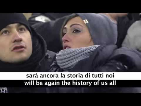 Juventus Theme Song   Storia Di Un Grande Amore   with Lyrics and Translation   YouTube