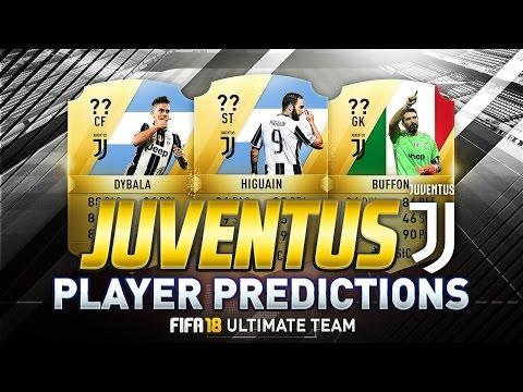 FIFA 18 | JUVENTUS PLAYER RATINGS PREDICTIONS | w/ BUFFON, DYBALA & HIGUAÍN | FUT 18