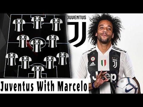 Juventus Starting Lineup With Marcelo Vieira 2019 !