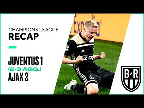 Juventus 1-2 Ajax (2-3 agg.): Champions League Recap with Highlights, Goals, and Best Moments