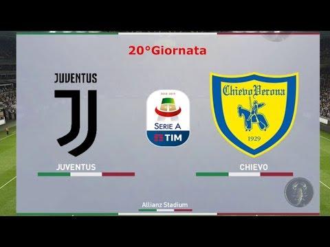 "Juventus Vs Chievo – 20°Giornata ""Partita dominata"" | PES 2019 Patch [Giù]"