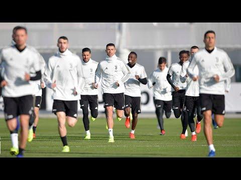 Cristiano Ronaldo, Latihan untuk pertandingan juventus vs chievo