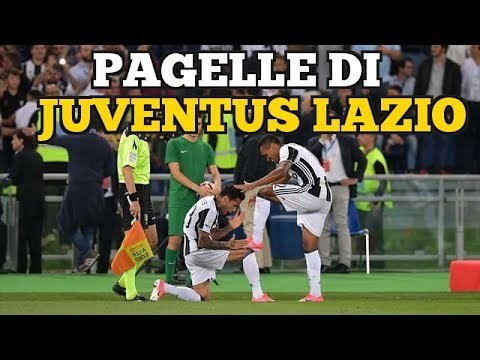 LE PAGELLE DI JUVENTUS LAZIO 2-0 – FINALE DI COPPA ITALIA