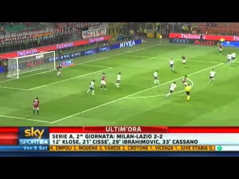 Milan – Lazio 2-2 Highlights Sky