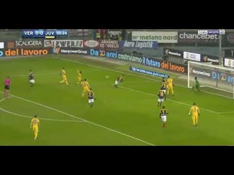 Juventus vs Verona 1-0 B. Matuidi Scored at 6th Minute