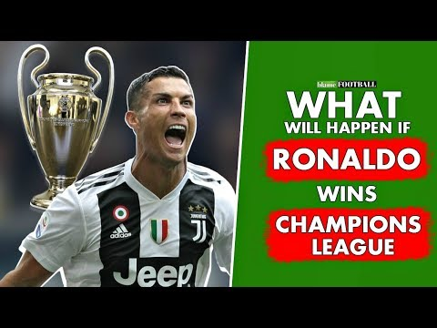 7 Things That Will Happen If Ronaldo Wins Champions League With Juventus