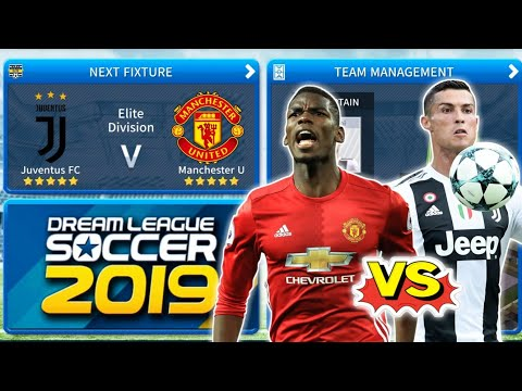 Juventus FC 🆚 Manchester United ⚽ DLS 19 Gameplay Full HD 🔥🔥🔥