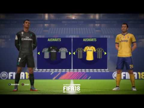 FIFA 18 – Demo Gameplay – Real Madrid vs Juventus in HD – Gamescom 2017
