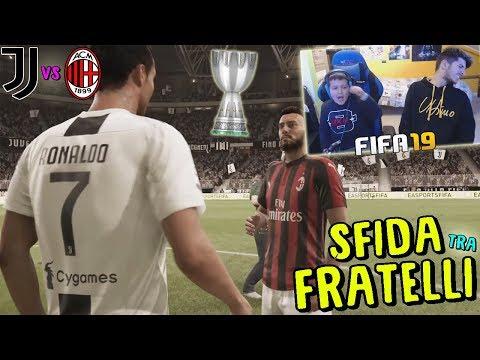 JUVENTUS vs MILAN – FINALE DI SUPERCOPPA ITALIANA! – Fifa 19