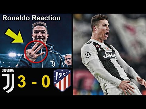 Famous Football Players Reaction to Juventus 3-0 Atletico Madrid