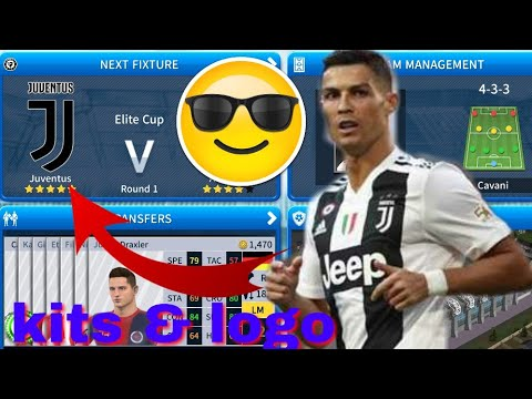 Dream League Soccer 2019 | How To Make Juventus Kits & Logo
