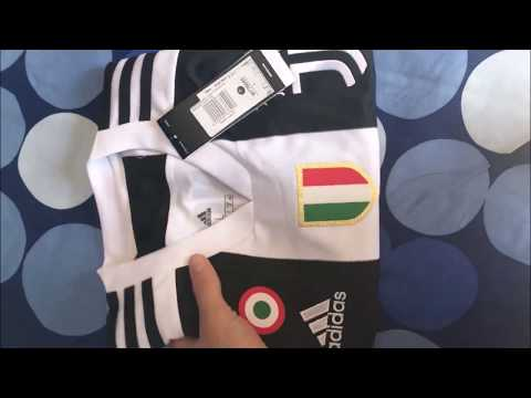 Unboxing Ronaldo Shirt! Home Jersey Juventus F.C. From Juventus Store (Turin)