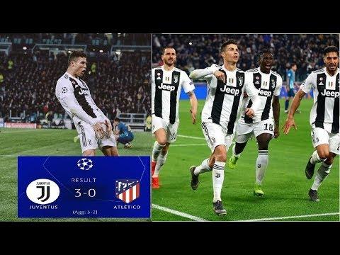 Juventus Player Crazy Celebration After Ronaldo Hat-trick, Juventus 3-0 Atletico Madrid