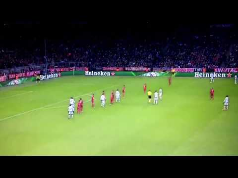 FIGHT  – Arturo Vidal VS Juan Cuadrado  UCL Juventus vs Bayern Munich