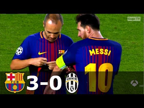 Barcelona vs Juventus 3-0 – UCL 2017/2018 – Highlights HD
