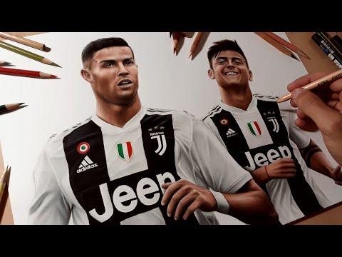 Disegno Ronaldo e Dybala – Juventus