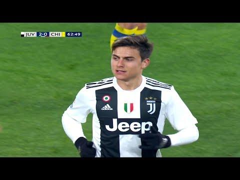 Paulo Dybala vs Chievo Verona (H) HD 1080p (21-01-2019)