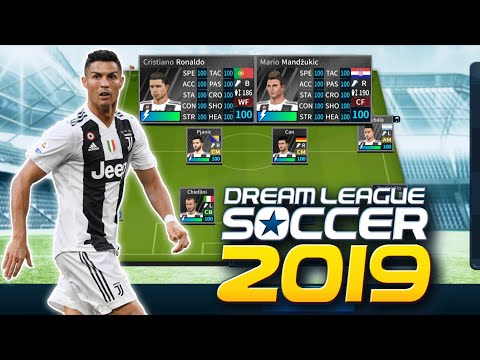 Download Juventus Latest Team, Kits & Logo Save Data || Dream League Soccer 2019