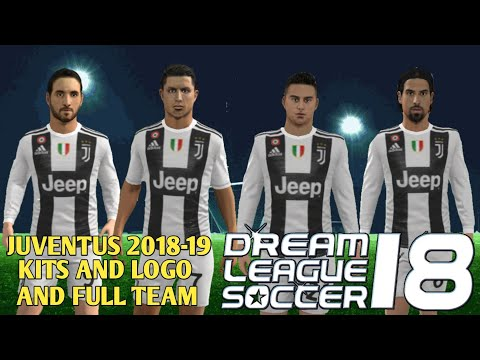 How To Create Juventus Team Kits & Logo In Dream League Soccer 2018