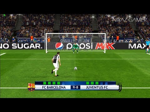 FC BARCELONA vs JUVENTUS FC | UEFA Champions League 2017-2018 | Penalty Shootout | PES 2017 Gameplay