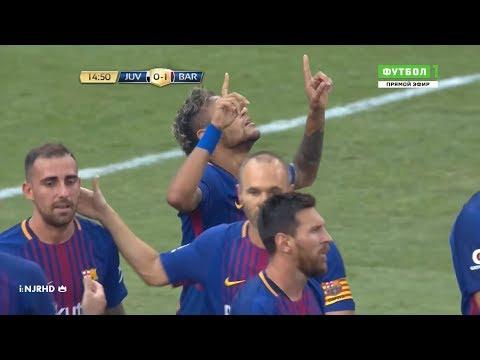 Neymar Amazing 2 goals vs Juventus | 23/7/17 | HD 1080i