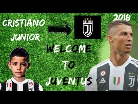 Cristiano Ronaldo Junior ● Welcome to Juventus [2018] ● Amazing Skills & Goals (HD)