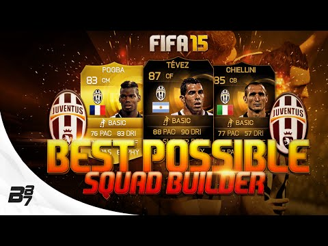 BEST POSSIBLE JUVENTUS TEAM! w/ SIF TEVEZ | FIFA 15 Ultimate Team Squad Builder
