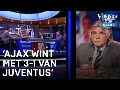 Toto-voorspelling: 'Ajax gaat met 3-1 winnen van Juventus' | VERONICA INSIDE