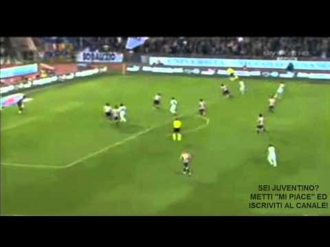 LAZIO VS JUVENTUS 0-1 (02-05-2011). HIGHLIGHTS MATCH. GOAL SIMONE PEPE.