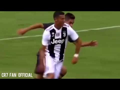 Cristiano ronaldo scores his first goal for juventus against juventus B(12/08/18)