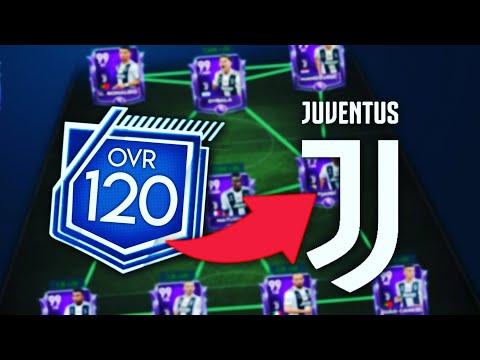 FULL 120 OVR JUVENTUS TEAM /FIFA MOBILE 19 – 99 OVR RONALDO