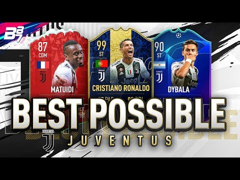 BEST POSSIBLE JUVENTUS TEAM! w/ TOTY RONALDO AND UCL DYBALA! | FIFA 19 ULTIMATE TEAM