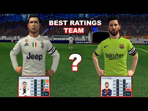 Who Are The BEST Ratings Team | Barcelona vs Juventus | Dream League Soccer 2019