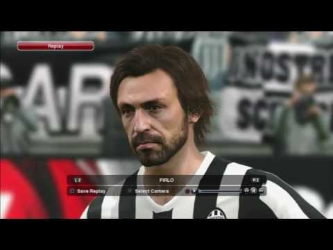 Pro Evolution Soccer 2014 (PES 2014) – Juventus and  Roma starting 11 player faces