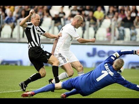 Zinedine Zidane Juventus vs Real Madrid – Unesco Charity match 2014