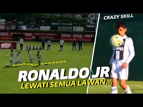 CRISTIANINHO !!!  Ronaldo Jr Kembali Gemparkan Dunia Dengan Skill Memukaunya Bersama Juventus