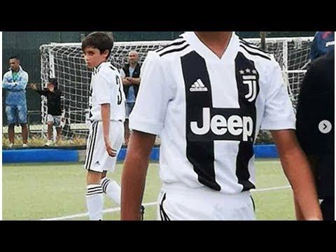 Con trai Ronaldo ghi tới 4 bàn trong ngày ra mắt đội U9 Juventus