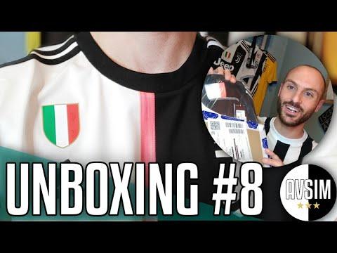 Unboxing nuova maglia Juve 2019/2020 ||| Avsim Unboxing #8