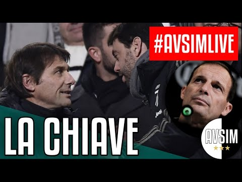 Allegri out, Conte stand by ||| #AvsimLive pre Inter-Juventus