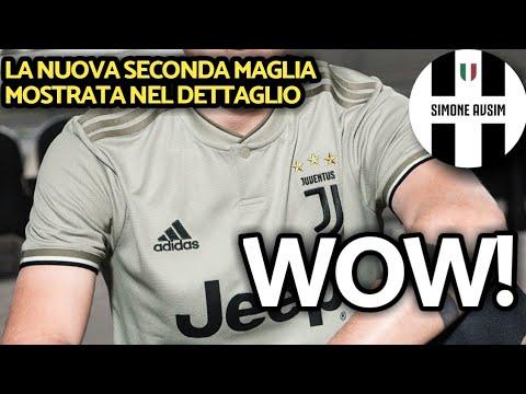 Ecco la seconda maglia Juve 2018/19 nel dettaglio ||| Speciale Avsim