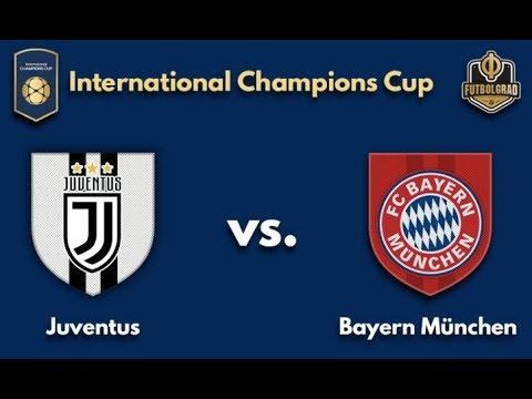 Juventus vs Bayern Munich en Vivo Online Hoy 25 Julio 2018